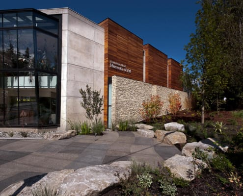 2atara design.build - Bainbridge Island Museum of Art